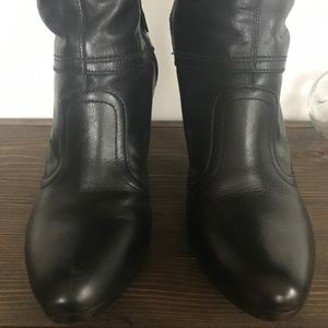 ANTONIO MELANI Shoes - Antonio Melani Black Leather 'Canter' Boots